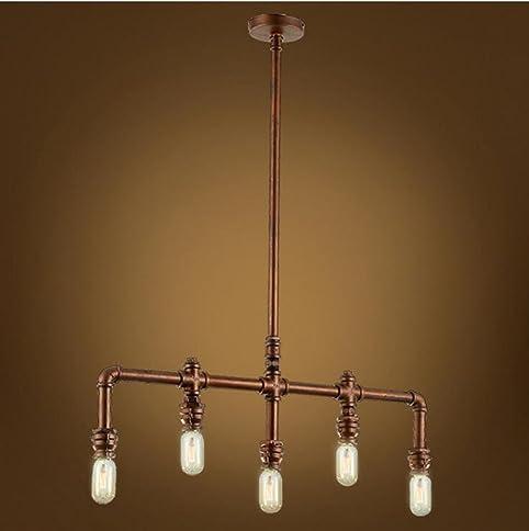 Glighone Rohr Lampe Industrie Vintage Pendelleuchte Wasserrohr