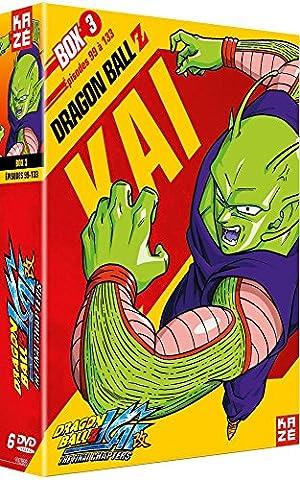 Dragon Ball Box - Dragon Ball Z Kai Box 3/4 -