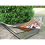 Ultracamp Large Coral Swinging Hammock with Stand