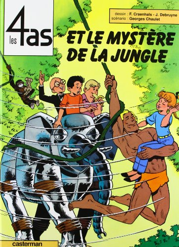 Les 4 as, tome 29 : Les 4 as et le mystère de la jungle