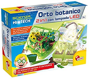 Lisciani 63895 Kit de experimentos Juguete y Kit de Ciencia para niños - Juguetes y Kits de Ciencia para niños (Botany, Kit de experimentos, 7 año(s), Niño/niña,, Italia)