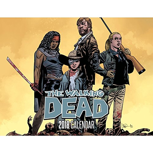 Walking Dead Comic Exklusive Wandkalender, Unterhaltung von Diamant Comic