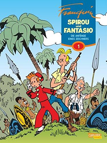 Spirou & Fantasio Gesamtausgabe 1: Die Anfänge eines Zeichners