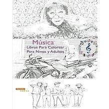 Amazones Libros Colorear Mandalas Adultos Música Arte Cine Y
