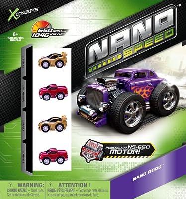 Nano X Conceptos velocidad (paquete de 4) de Spin Master