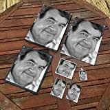 TOM BOSLEY - Original Art Gift Set #js002 (Includes - A4 Canvas - A4 Print - Coaster - Fridge Magnet - Keyring - Mouse Mat - Sketch Card)