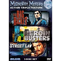 Midnight Movies Vol 3: Action Triple Feature (Big Racket/Heroin Busters/Street Law) by Fabio Testi