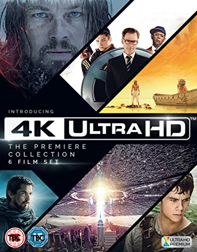 Preisvergleich Produktbild 4K Ultra HD - The Premiere Collection(The Revenant, Kingsman, Life of Pi, The Maze Runner,  Independence Day, Exodus) Import mit deutschem Ton