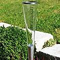 FIAP Regenmesser premiumdesign RainFall, silber von FIAP - Du und dein Garten