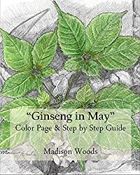 Sketch Your Own Ginseng: Color Page & Step by Step Guide (English Edition)