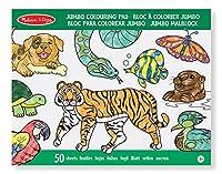 Melissa & Doug Jumbo Colouring Pad Animals