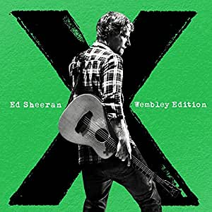 x (Wembley Edition) [CD+DVD] by Ed Sheeran: Amazon.co.uk ... X Album Cover