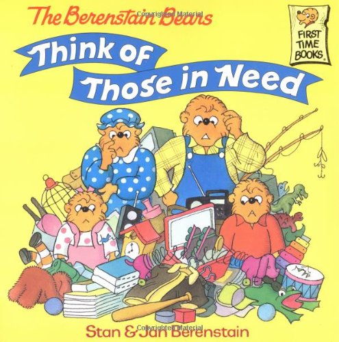 Berenstain bears' too much stuff