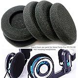 Lot de 6 coussinets en mousse souple pour écouteurs Sony Sennheiser Philips AKG pour Koss Porta Pro PP PX100 noir