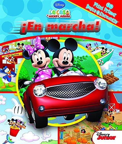 Mini mi primer busca y encuentra. Mickey en marcha (LM1LF) por Mickey