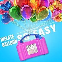 Zecti Inflador de globos rápido y efectivo Inflador de globos electrico para fiestas Alta potencia: 600W Certificado CE/ RoHs - Color Rosado