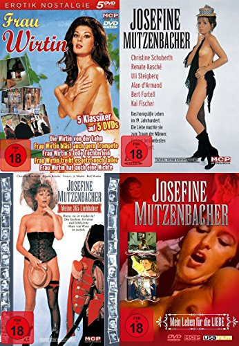 10er Sexy Classics FRAU WIRTIN & FRAU MUTZENBACHER 70er Jahre Erotik Collection DVD Limited Edition