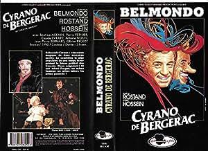 Cyrano De Bergerac [VHS]: Hossein Robert, Belmondo Jean