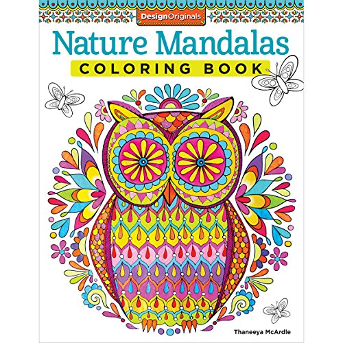 Nature Mandalas Coloring Book (Design Originals) por Thaneeya McArdle