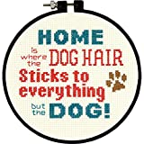 Dimensions Counted Cross Stitch Kit, Pet Hair