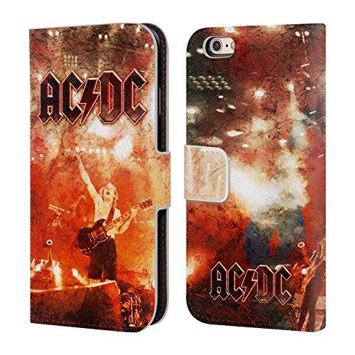 Ufficiale AC/DC ACDC Live At River Plate Arte Album Cover a portafoglio in pelle per Apple iPhone 6 / 6s