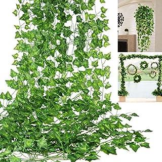 Nahuaa Kunstliche Blumen 2 Stucke Pflanzen Hangend Kleine Blumen