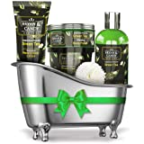 Bryan & Candy New York Green Tea Bath Tub Kit Gift for Women And Men Combo For Complete Home Spa Experience (Shower Gel, Hand