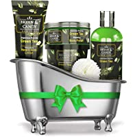 Bryan & Candy New York Green Tea Bath Tub Diwali Gift Set For Women And Men Combo For Complete Home Spa Experience…
