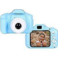 RS Digital Camera, Recorder Camera 800W HD 2.0 Inch Screen Video Front Camera for Children - Blue
