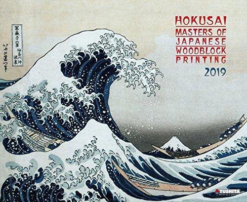Hokusai - Japanese Woodblock Painting 2019: Kalender 2019 (Decor Calendars 55x45cm) - Katsushika Hokusai