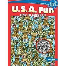 Spark U.S.A. Fun Find It! Color It! (Dover Coloring Books)