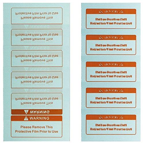 awm® WH02C Automatik Schweißhelm Ersatzgläser 5x Außen (123 mm x 98 mm) 5x Innen (108mm x 58mm) Ersatzscheiben Vorsatzscheiben Schutzscheiben