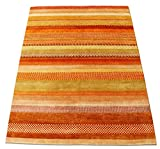 New Multi Stripe Gabbeh 100% handgeknotet aus Wolle Bereich Teppiche Teppiche, multi, 3x5 (91x152)cm