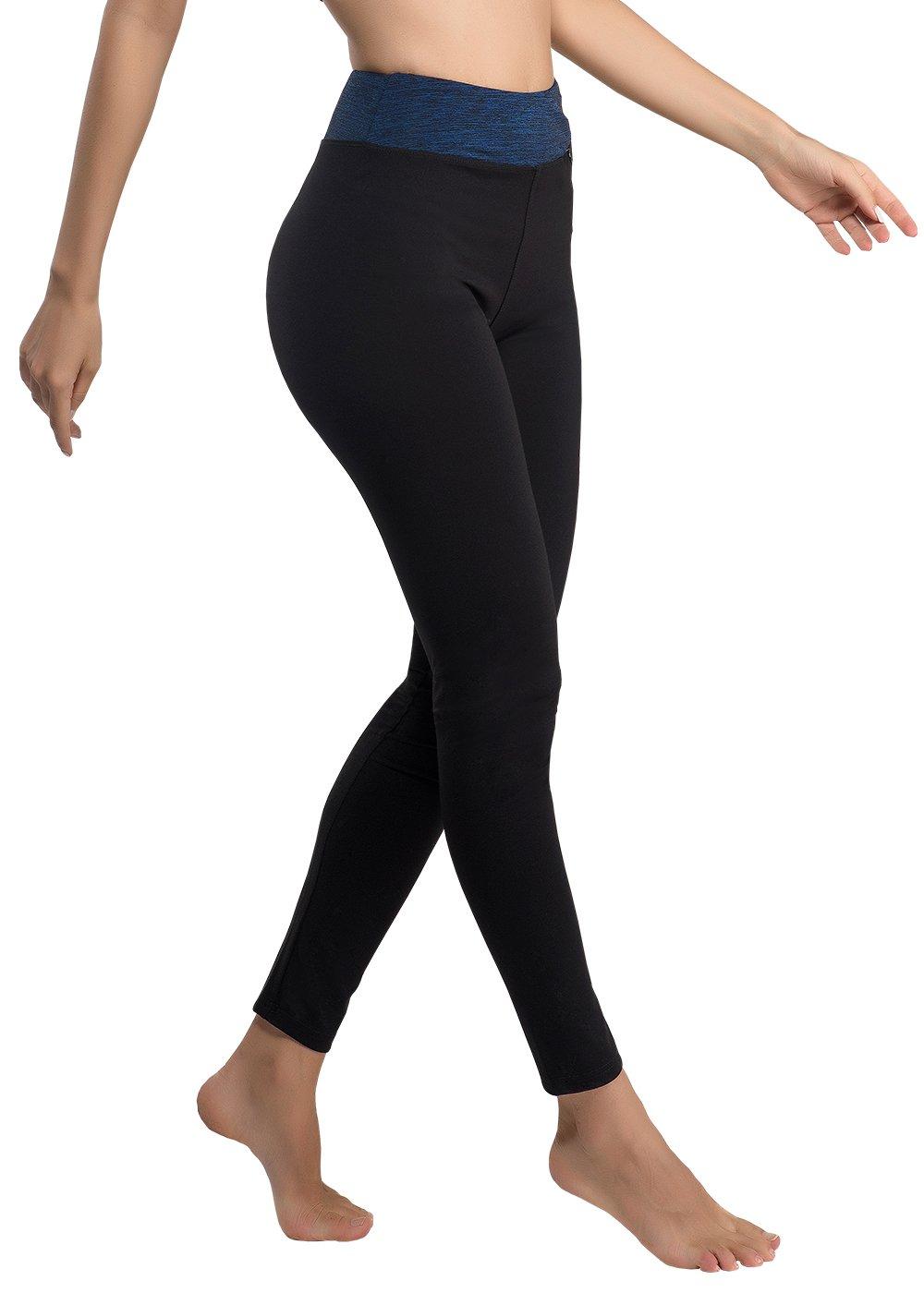1f2be137d774 VANIS Mallas Deportivas Mujer Yoga Leggings Pantalon Elastico Cintura  Altura Polainas para Running Gym Pilates Fitness - Mejores Precios
