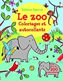 Image de Le zoo - Coloriages et autocollants