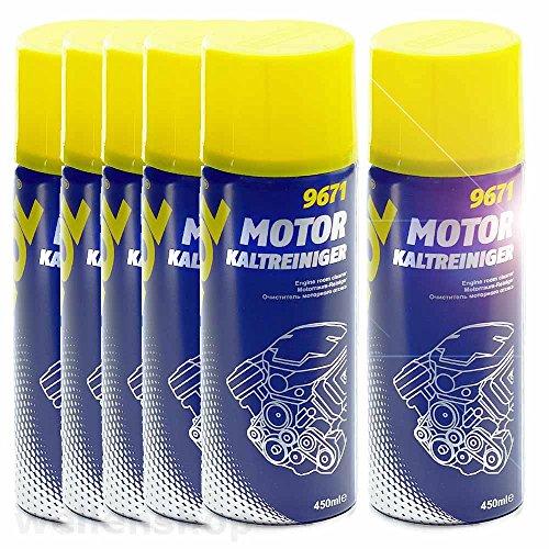 6 x KFZ Kaltreiniger-Spray MANNOL 450ml