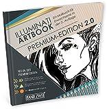Malbuch für Erwachsene: ILLUMINATI ARTBOOK 2 (Kleestern® Premium-Edition 2.0)