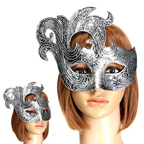 Máscara Vintage Plateada