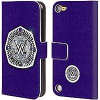 Ufficiale WWE Cruiserweight Champion Fascia Della Vittoria Cover a portafoglio in pelle per iPod Touch 5th Gen / 6th Gen