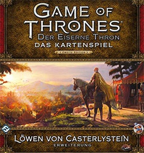 Fantasy Flight Games FFGD2354 GoT: LCG 2.Ed. -Löwen von Casterlystein (Fantasy Flight Game Of Thrones)