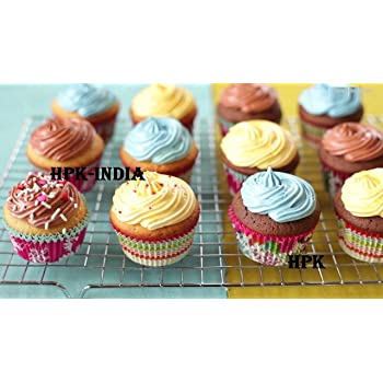 Hpk 100 Diy Microwave Cupcake Liners Baking Cup Muffin Cases For Christmas/Wedding/Party/Birthday