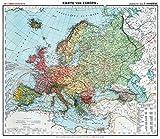 Historsiche Karte: Europa, um 1910 (Plano) - Friedrich Handtke