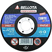 Bellota 50310-125 - DISCO ABR. PROF.C.INOX 125