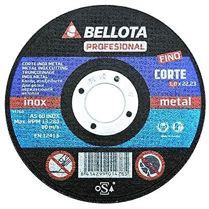 Bellota 50310-125 – DISCO ABR. PROF.C.INOX 125