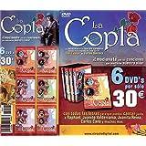 """Pack 6 DVD's """"LA COPLA - ANTOLOGÍA DE LA CANCIÓN ESPAÑOLA"""" basada en el programa """"La Copla"""" de Canal Sur presentado por Carlos Herrera"""