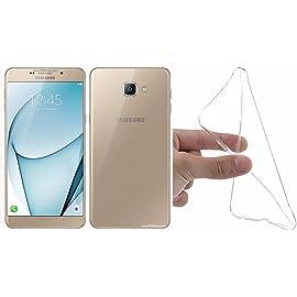 M.G.R.J® TPU Back Cover for Samsung Galaxy A9 Pro   Transparent