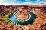 great-art Poster Horseshoe Bend Arizona – USA Wandbild
