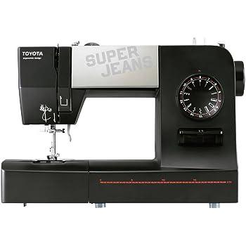 Toyota 15B Super Jeans Sewing Machine, Black
