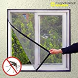 Hasëndad IG107453 - Mosquitera para ventana (100 x 120 cm) color negro
