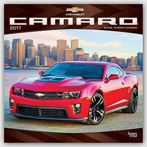 Camaro 2017 - 18-Monatskalender: Original BrownTrout-Kalender